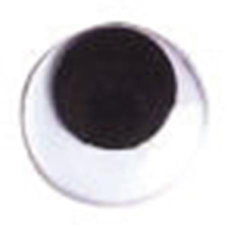 NBK/動眼 貼り付け 18mm 1000個 黒/CE110-1000【01】【取寄】