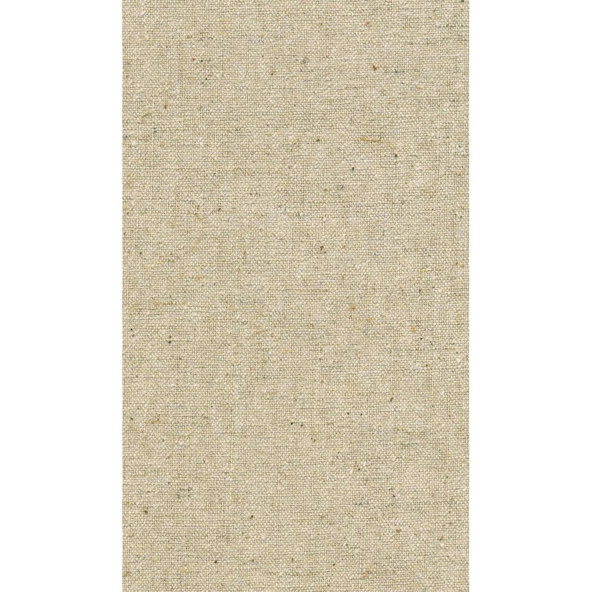 麻キャンバス 巾110cm 原反 約12m 生成/H8001R【01】【取寄】[12m]《 手芸用品 生地・芯地 キャンバス・ガーゼ 》