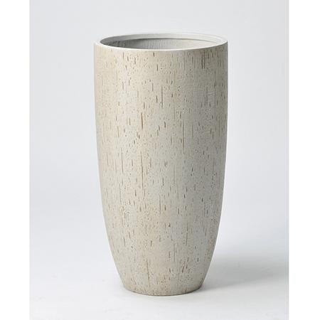 アスカ/ポット(L) スト-ン/A-10692-011S【01】【01】【取寄】《 花器、リース 花器・花瓶 プラスチック・アクリル花器 》