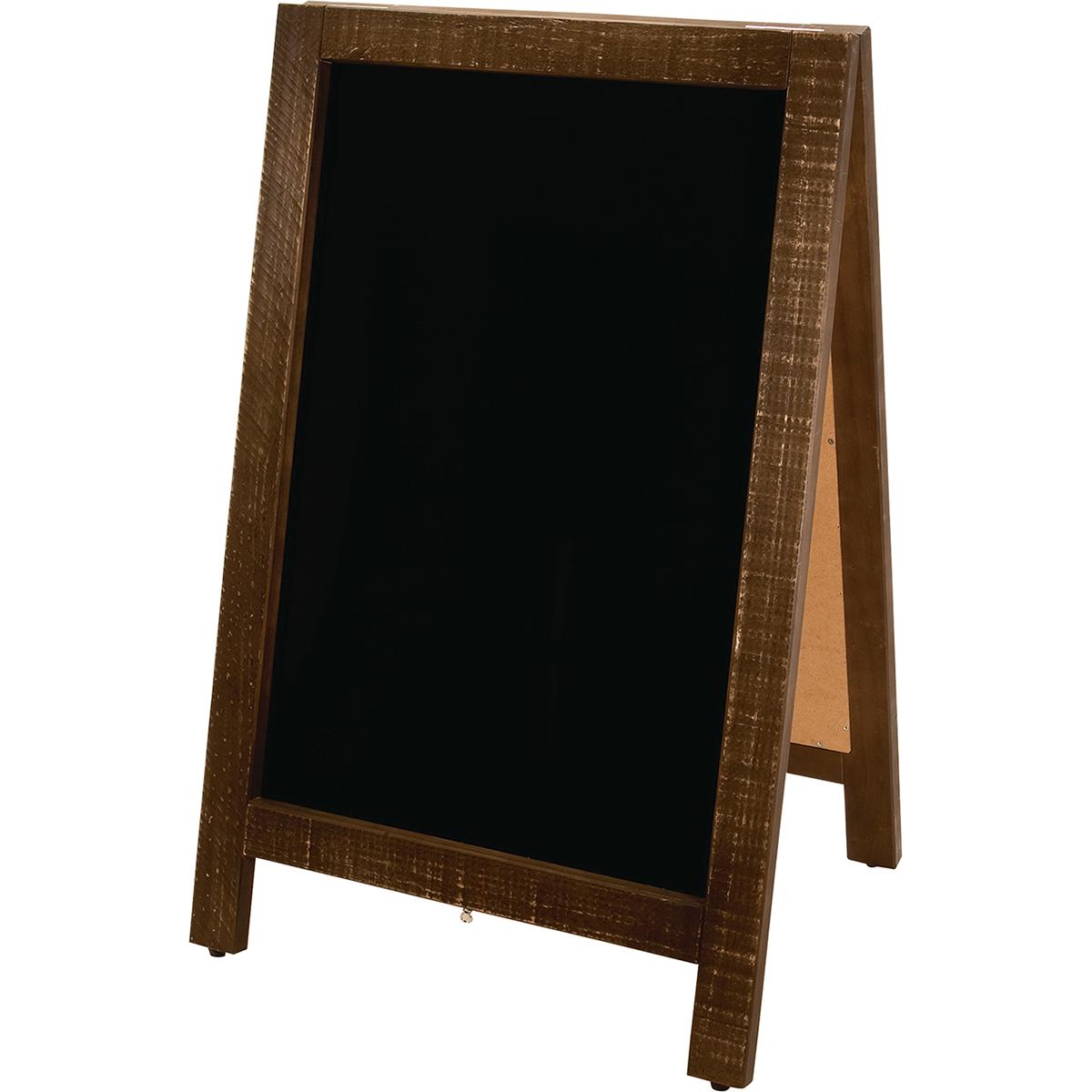 新A型看板アージュ 茶/GB164422【01】【取寄】