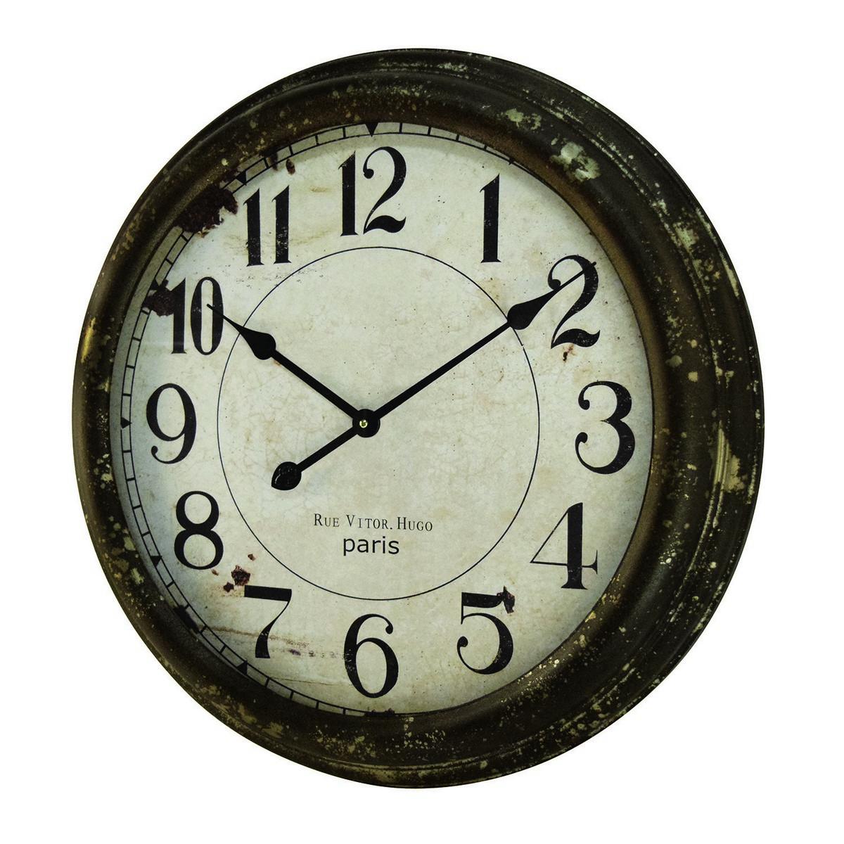 CARNAC/アンティーククロックE/ZF11【01】【取寄】《 店舗ディスプレイ インテリア 時計 》