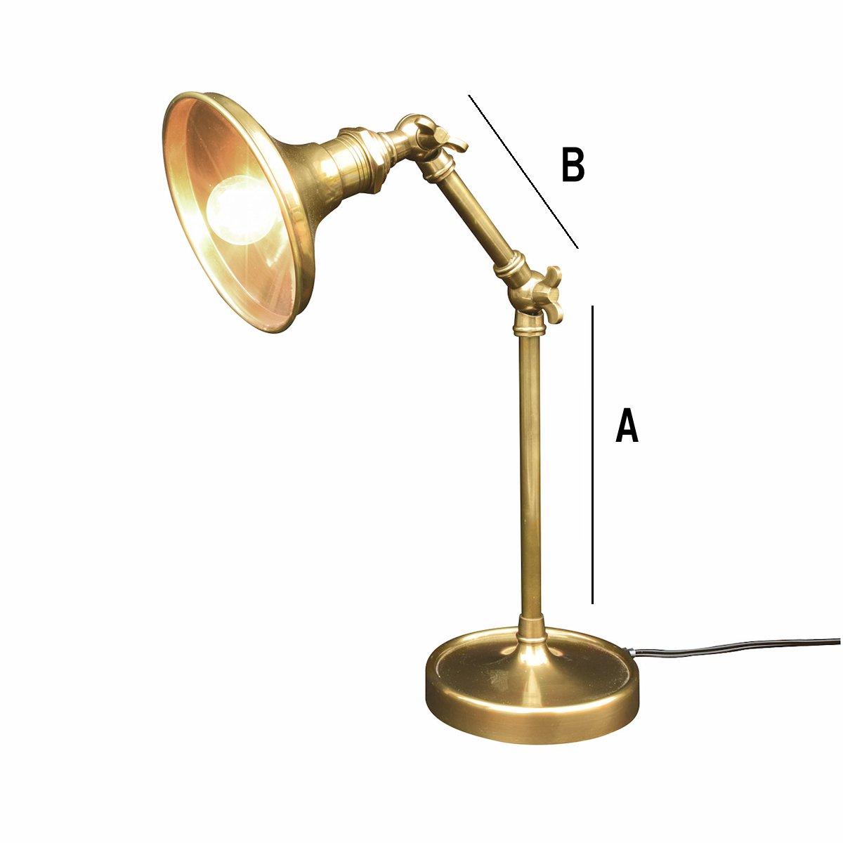 CARNAC/アンティークブラスランプシェードB/NJ24【01】【取寄】《 店舗ディスプレイ インテリア ランプ・ライト 》