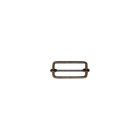 手芸用品 持ち手 金具 バッグ用金具 手作り 材料 毎日続々入荷 専門店 NBK リュックカン 10個 S24-32 取寄 ABL アンティークゴールド 07 50mm AG