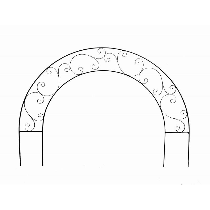 【直送】大同クラフト/アラベスクフェンス アーチL/AAF18-A90※返品・代引・キャンセル不可【01】[4個]