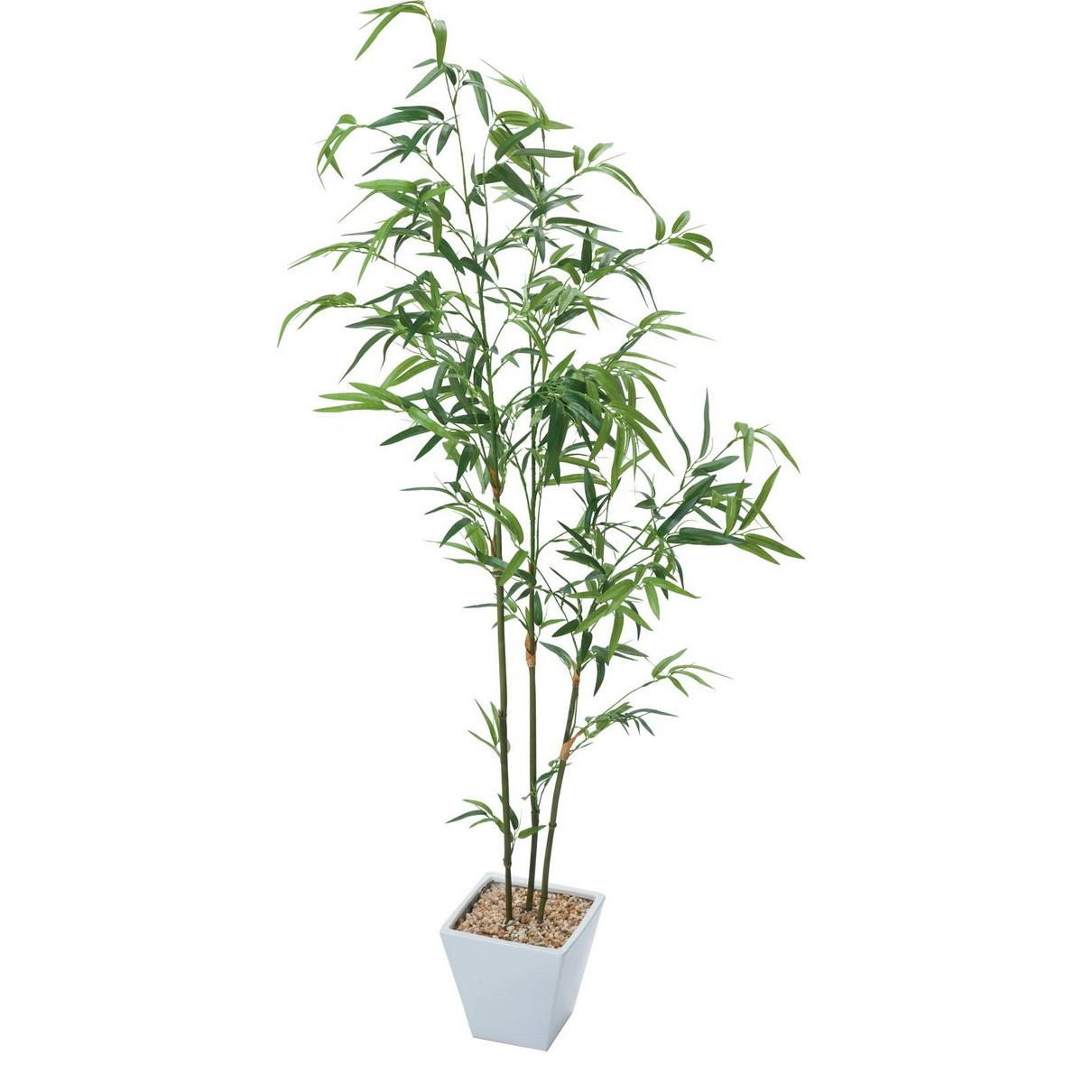 【人工観葉植物】YDM/バンブーツリー グリーン/GLA-1436-GR【01】【取寄】