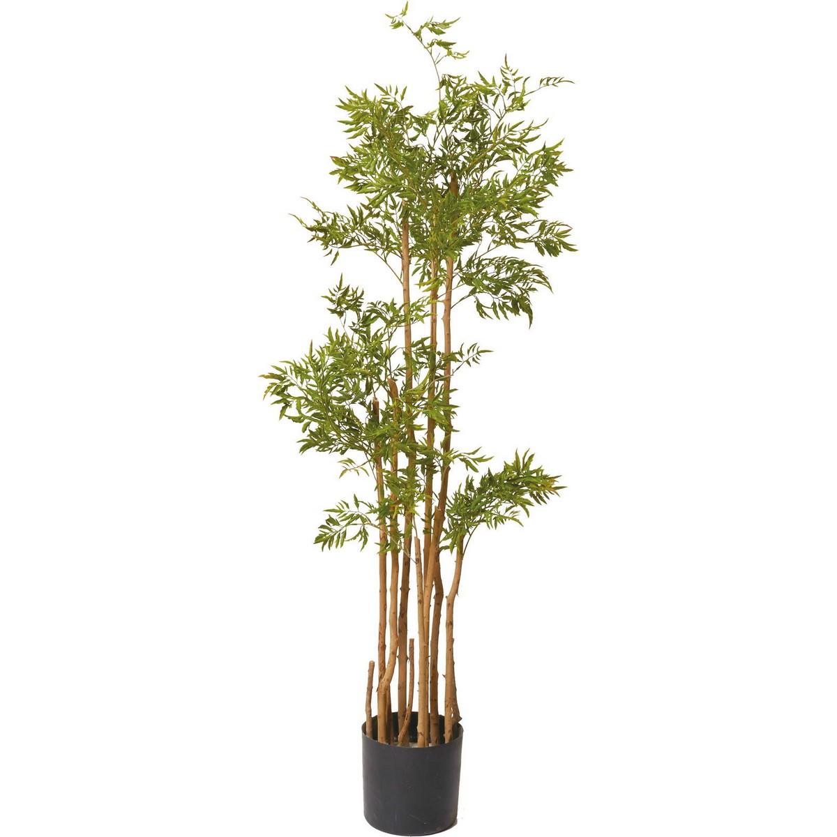 【直送】【人工観葉植物】YDM/ポリシャスツリ-M グリーン/GLP-1505-GR ※返品・代引不可【01】