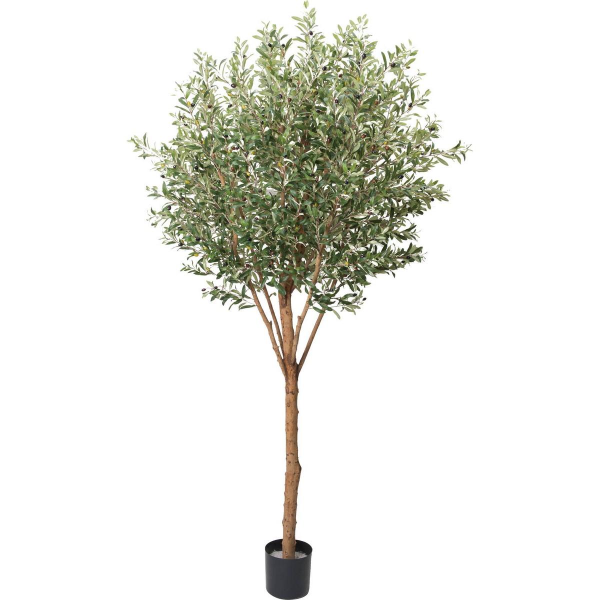 【直送】【人工観葉植物】YDM/240cmオリーブ/GLP-1489 ※返品・代引・キャンセル不可【01】