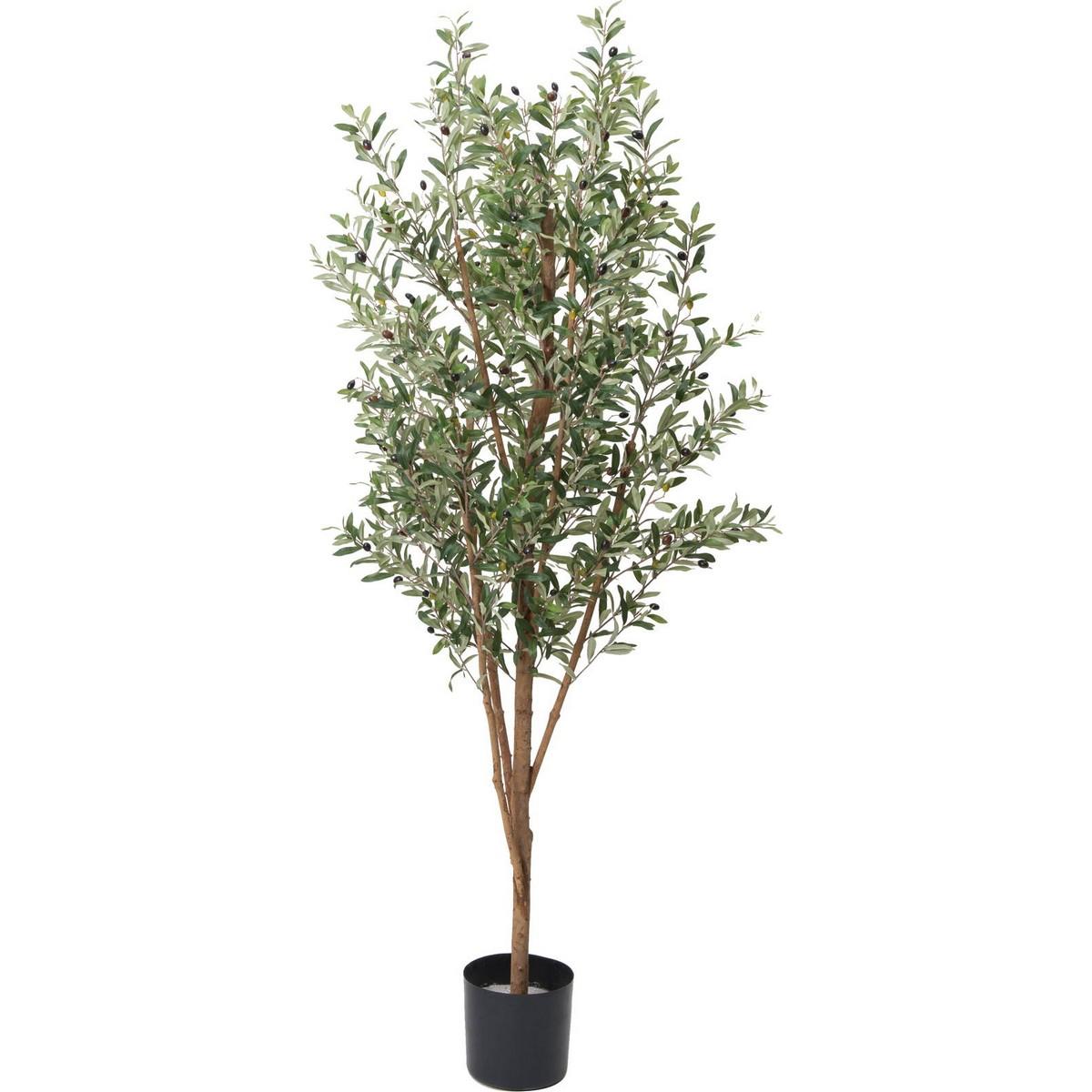 【直送】【人工観葉植物】YDM/180cmオリーブ/GLP-1490 ※返品・代引・キャンセル不可【01】