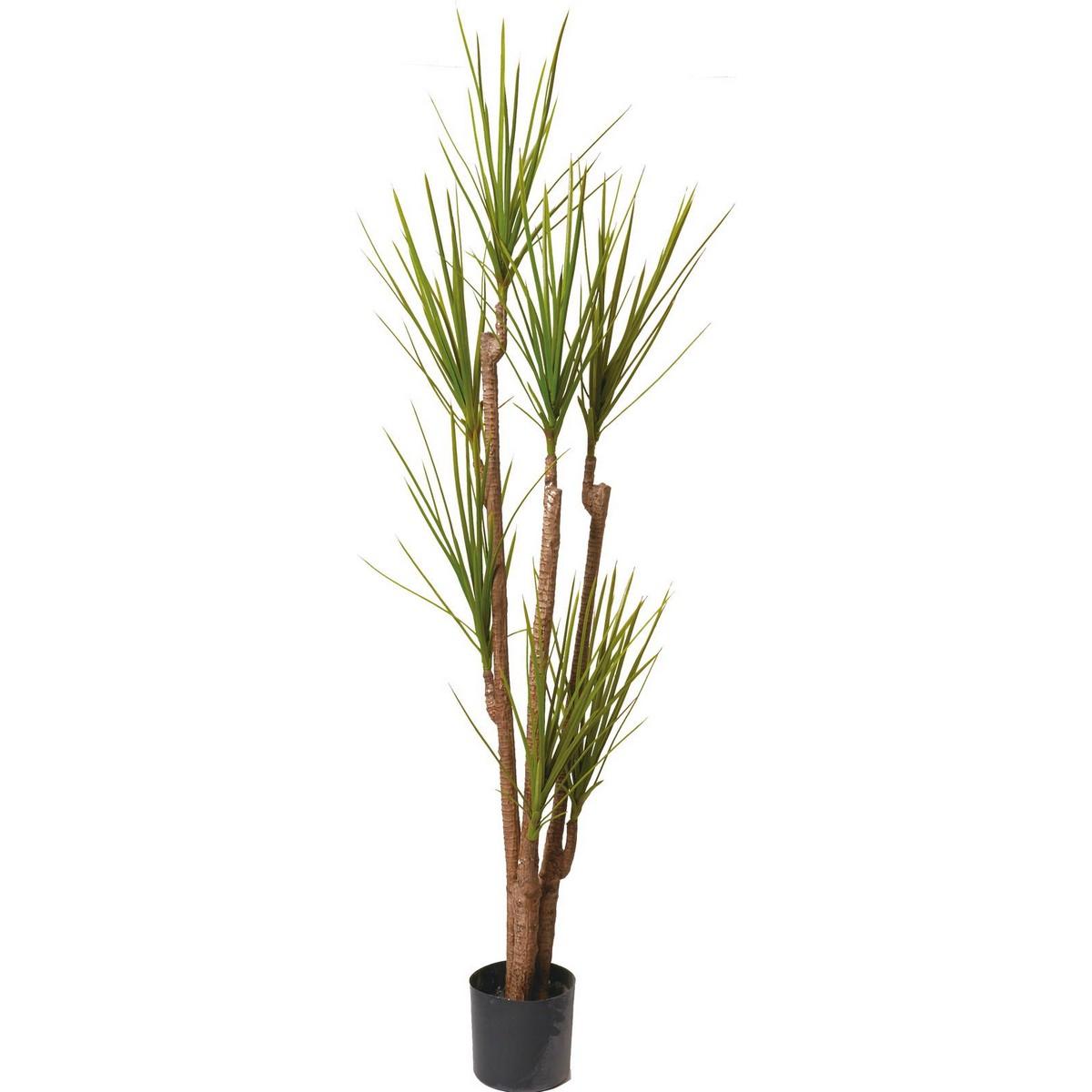 【直送】【人工観葉植物】YDM/ユッカロストララツリー グリーン/GLP-1504-GR ※返品・代引不可【01】