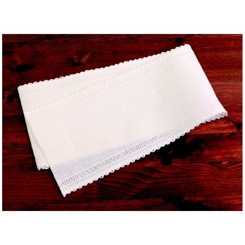 手芸用品 刺しゅう 刺しゅう用ツール 手作り 材料 取寄 SHA500 毎日続々入荷 アウトレットセール 特集 01 12cm×1m 刺しゅう用麻ステッチテープ