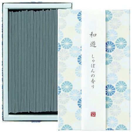 カメヤマ/和遊 しゃぼんの香り平箱/I2012-02-03【01】【取寄】[5箱]《 キャンドル アロマ アロマ雑貨 》