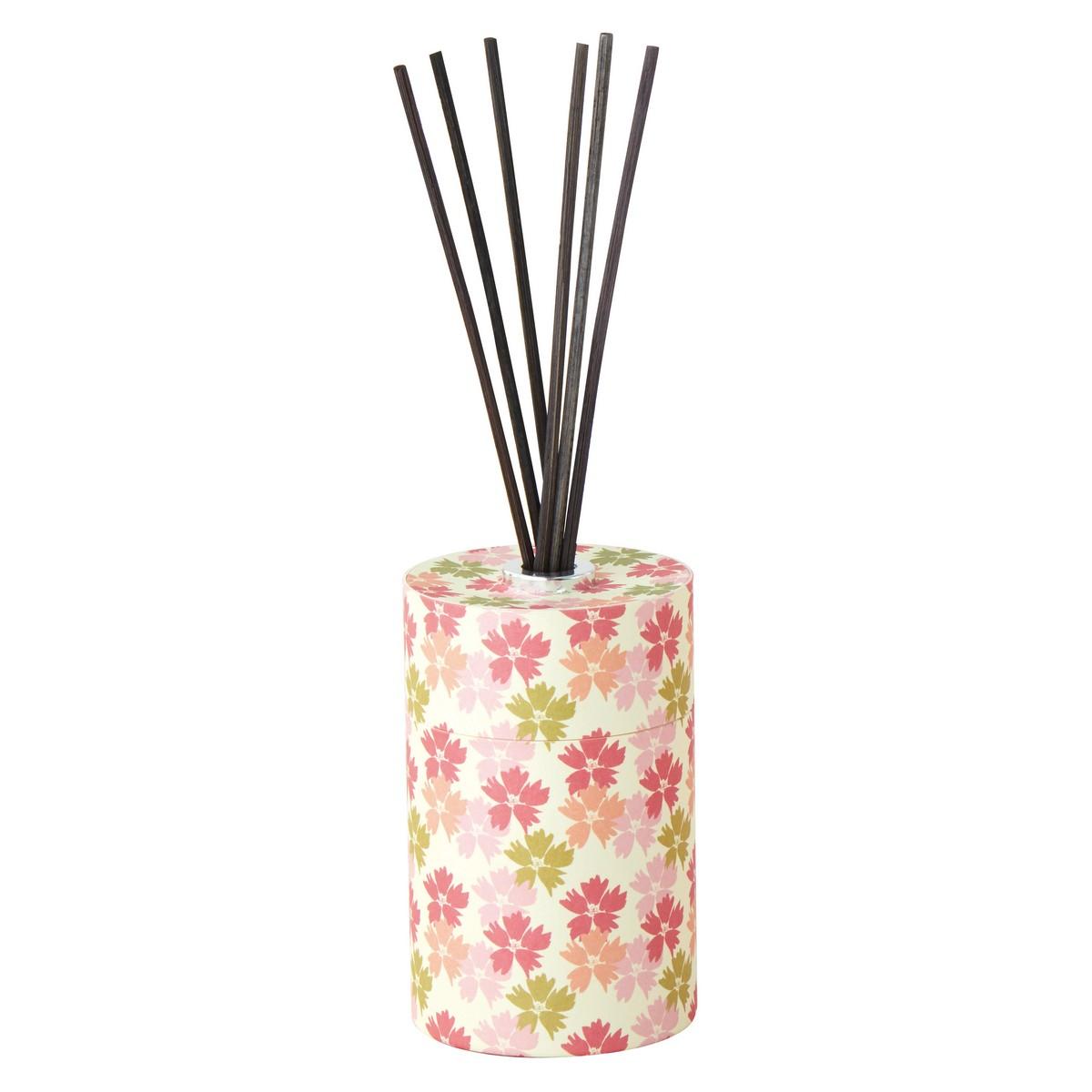 カメヤマ/和遊ディフューザー桜の香り/PE340-05-10【01】【取寄】[6個]《キャンドル、アロマ リードディフューザー 完成品》