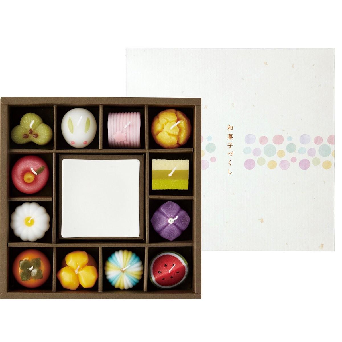カメヤマ/和菓子づくしギフトセット/T9626-00-00【01】【取寄】[2個]《 キャンドル アロマ アロマ雑貨 》