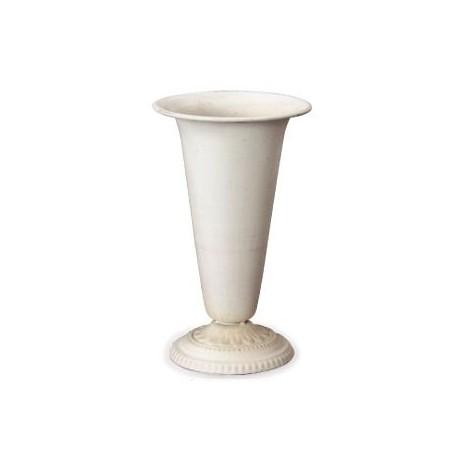 花器 花瓶 ブリキ アイアン アルミ オーバーのアイテム取扱☆ おしゃれ カルチベーター 022089 送料無料 インテリア 取寄 01 アンテックホワイトコンポートI