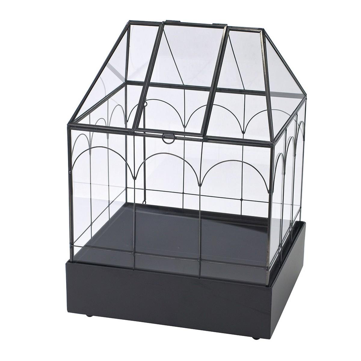 SPICE/ガラステラリウム メタルベース付きハウス/XSGH1060【07】【取寄】