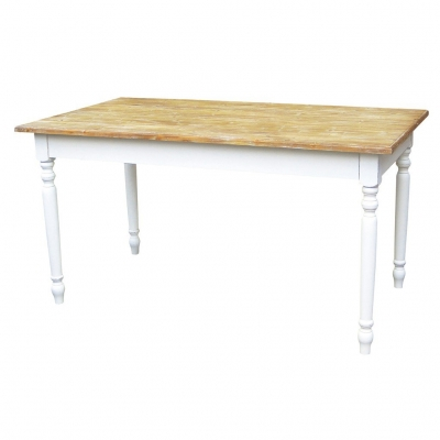 【直送】SPICE/Maison Furniture RECT TABLE(K/D)/CFC802※返品・代引不可【01】《 店舗ディスプレイ 家具・収納 テーブル 》