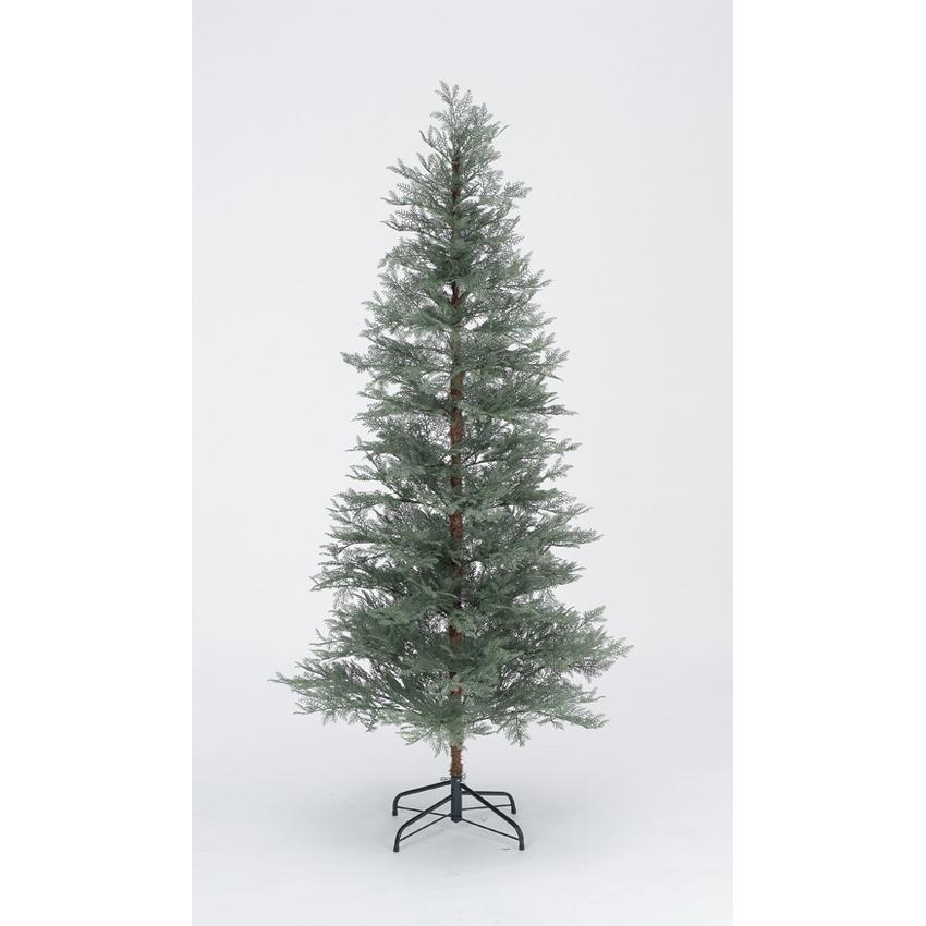 【造花】アスカ/ブルーノーブルツリー/AX69361【01】【取寄】《 店舗ディスプレイ クリスマス飾り クリスマスツリー 》