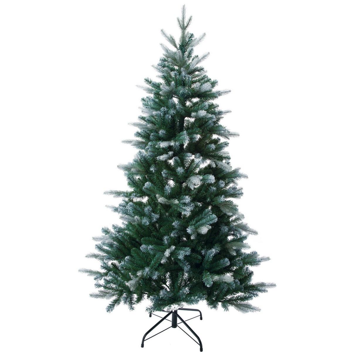 【造花】YDM/180cmブルーグリーンツリー/CAA-166【01】【取寄】《 店舗ディスプレイ クリスマス飾り クリスマスツリー 》