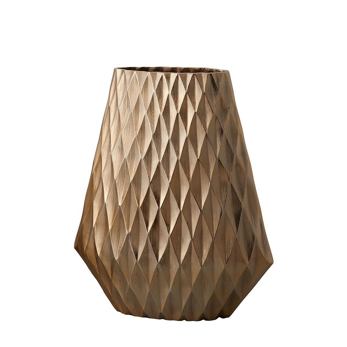 花器、リース 花器・花瓶 ブリキ・アイアン・アルミ花器 手作り 材料 クレイ/Aluminum Geometrie GOLD/570-574-902【01】【取寄】