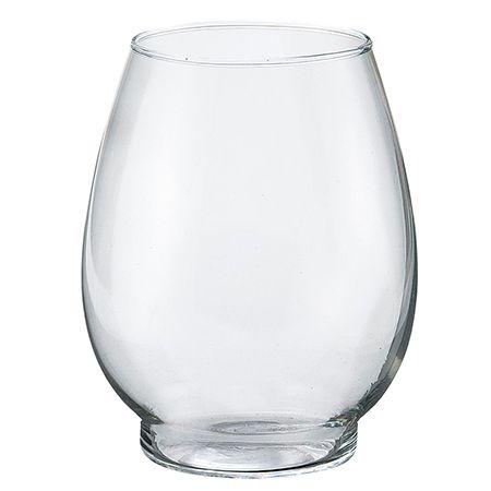 花器 リース 花瓶 当店一番人気 ガラス花器 松野ホビー 01 スーパーセール期間限定 4個 FR-1124 カップグラスL 取寄