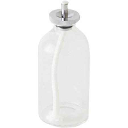 カメヤマ/ハーバリウムランプ・オイルランプ用ガラスボトルS 60ml シルバー/SJ950-00-10SI【07】【取寄】[6個]
