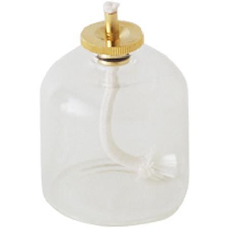 カメヤマ/ハーバリウムランプ・オイルランプ用ガラスボトルM 80ml ゴールド/SJ950-00-20【07】【取寄】[6個]
