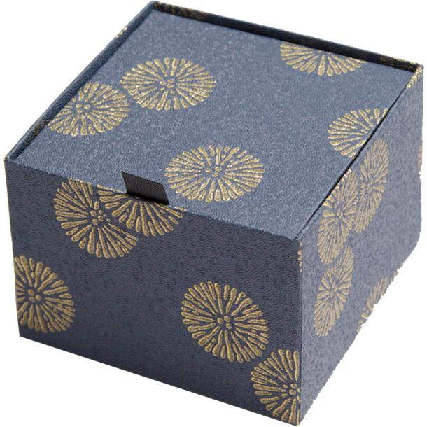 【プリザーブド】アモローサ/ダイヤモンド-モダン和85-紺瑠璃 レザーブラック/1235-00【01】【取寄】[6箱]