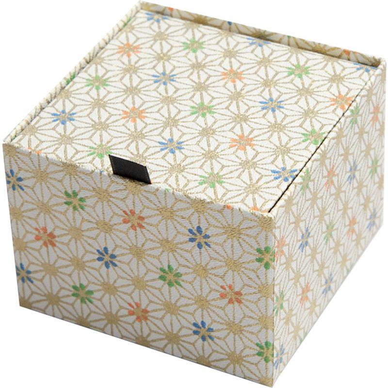 【プリザーブド】アモローサ/ダイヤモンド-モダン和85-金平糖 レザーブラック/1236-00【01】【取寄】[6箱]