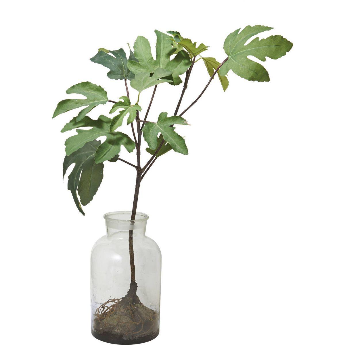 【人工観葉植物】YDM/ボタニカルパンノキ グリーン/GLA-1475-GR【01】【取寄】