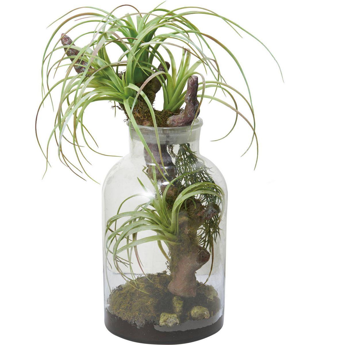 【人工観葉植物】YDM/ボタニカルチランジア グリーン/GLA-1476-GR【01】【取寄】