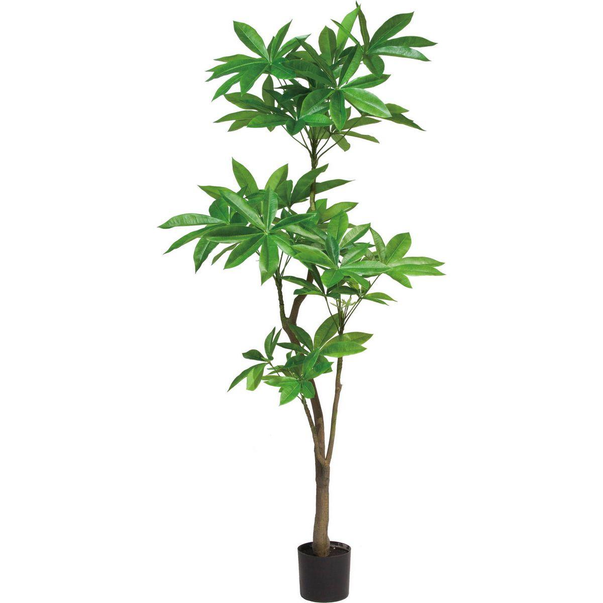【直送】【人工観葉植物】YDM/180CMパキラ グリーン/GLP-1522-GR ※返品・代引不可【01】