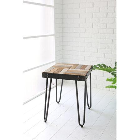 COVENT/ウッドワーク サイドテーブル/GN-04【01】【取寄】《 店舗ディスプレイ 家具・収納 テーブル 》