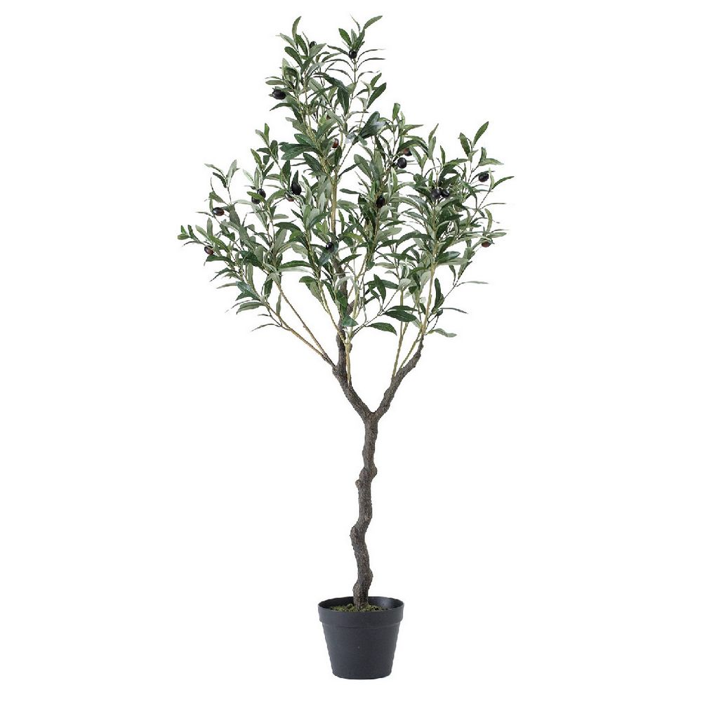 【人工観葉植物】SPICE/フェイクグリーン オリーブの木 120cm/CXGK1013【01】【取寄】