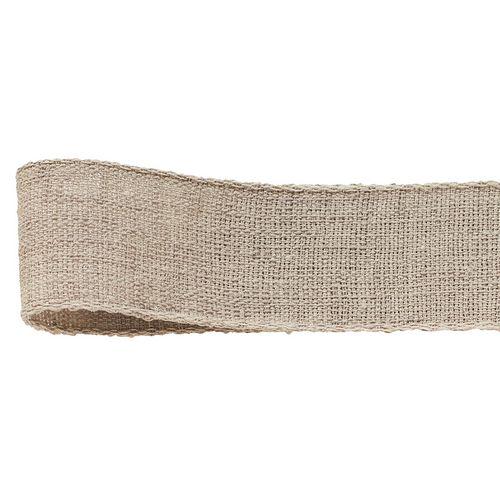 マーケティング リボン デザインリボン ナチュラルデザインリボン 手作り 材料 青山リボン 278-46 取寄 ネオリネン #046 01 初売り 25mm×15m