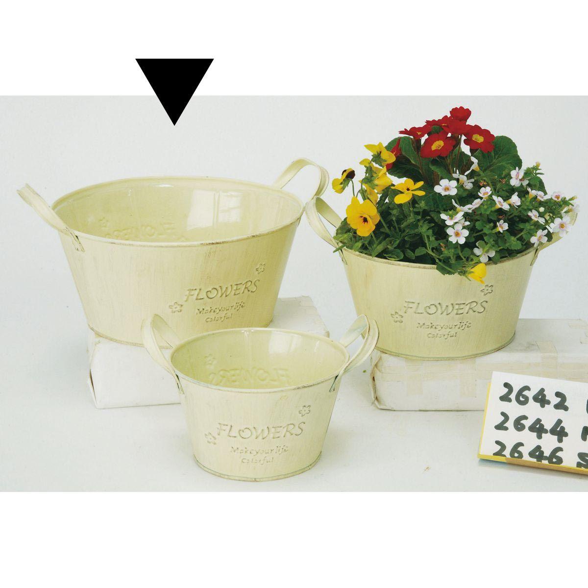 エイチツーオー/カントリーサークルトL ホワイト/H2642【01】【取寄】[12個]