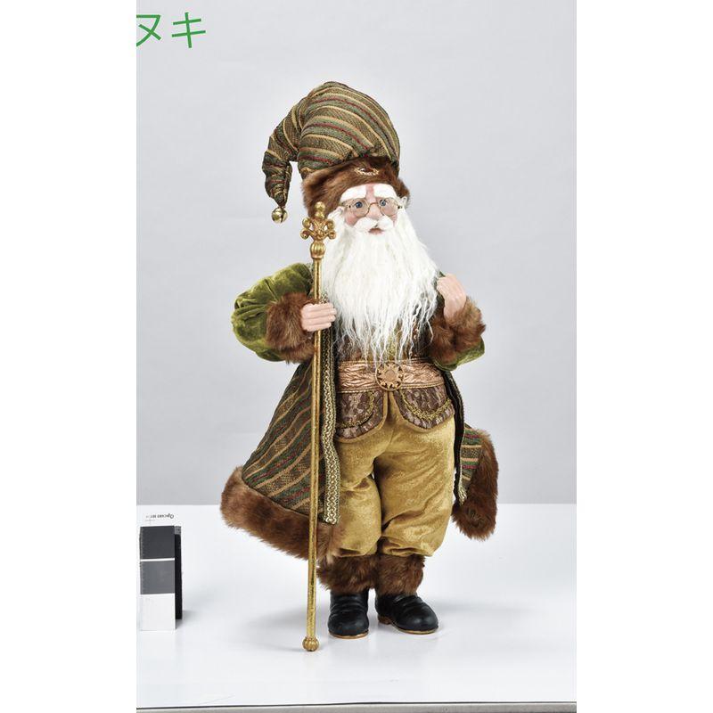 アスカ/スタンディングサンタ/AX69591【01】【取寄】《 店舗ディスプレイ クリスマス飾り オブジェ・小物 》