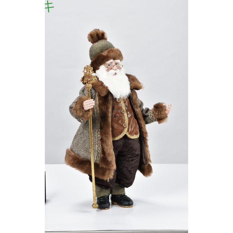 アスカ/スタンディングサンタ/AX69593【01】【取寄】《 店舗ディスプレイ クリスマス飾り オブジェ・小物 》
