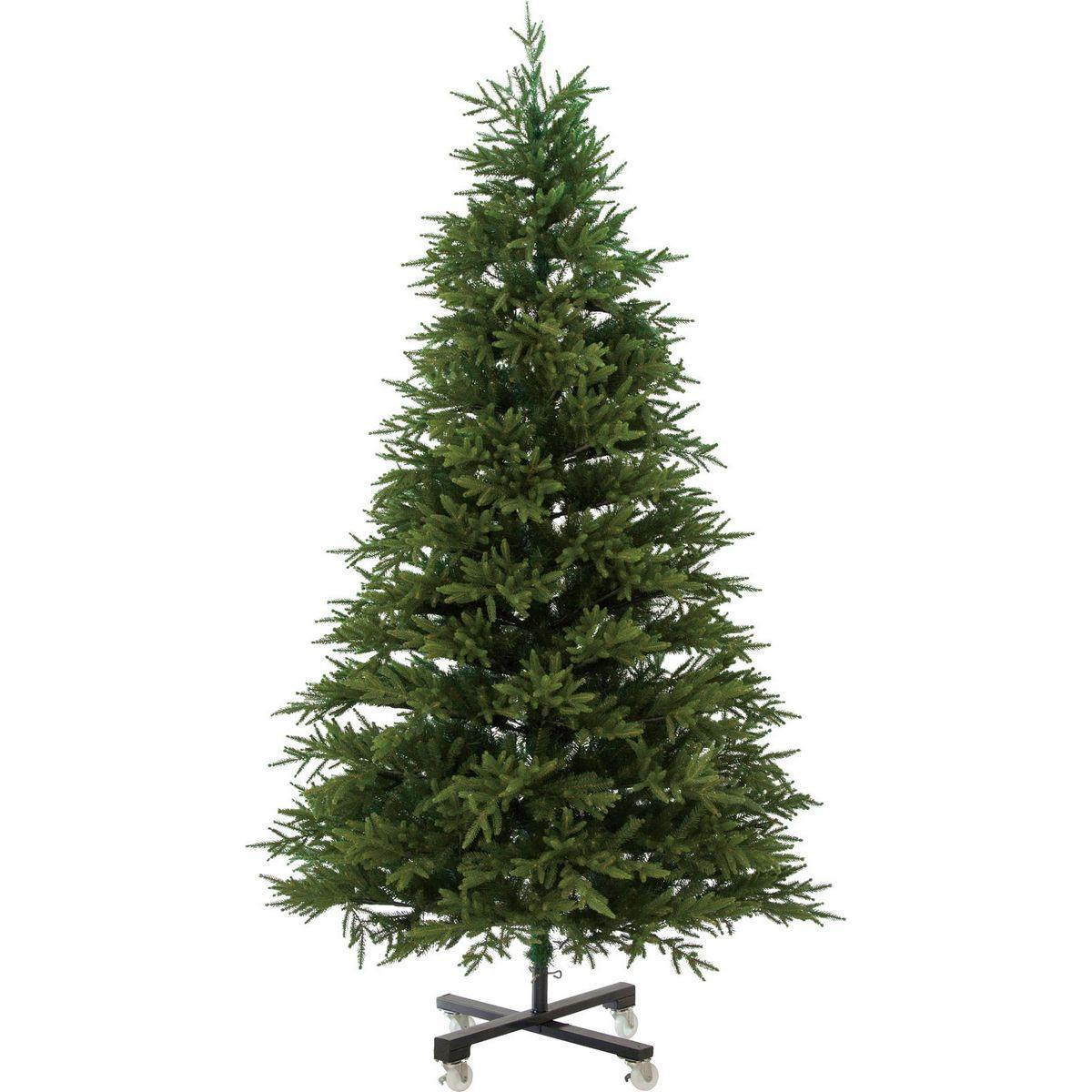 YDM/240cmリアルスリムパインツリー/CAA-174【01】【取寄】《 店舗ディスプレイ クリスマス飾り クリスマスツリー 》