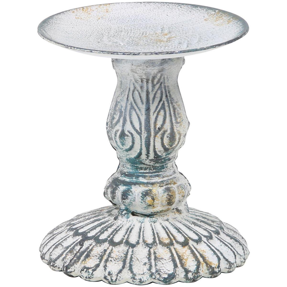 花器 出色 リース 花瓶 ブリキ アイアン アルミ花器 即日 514-028G 公式 SG Wonder ゴールドウォッシュ zone アンティークアイアンキャンドルスタンドS