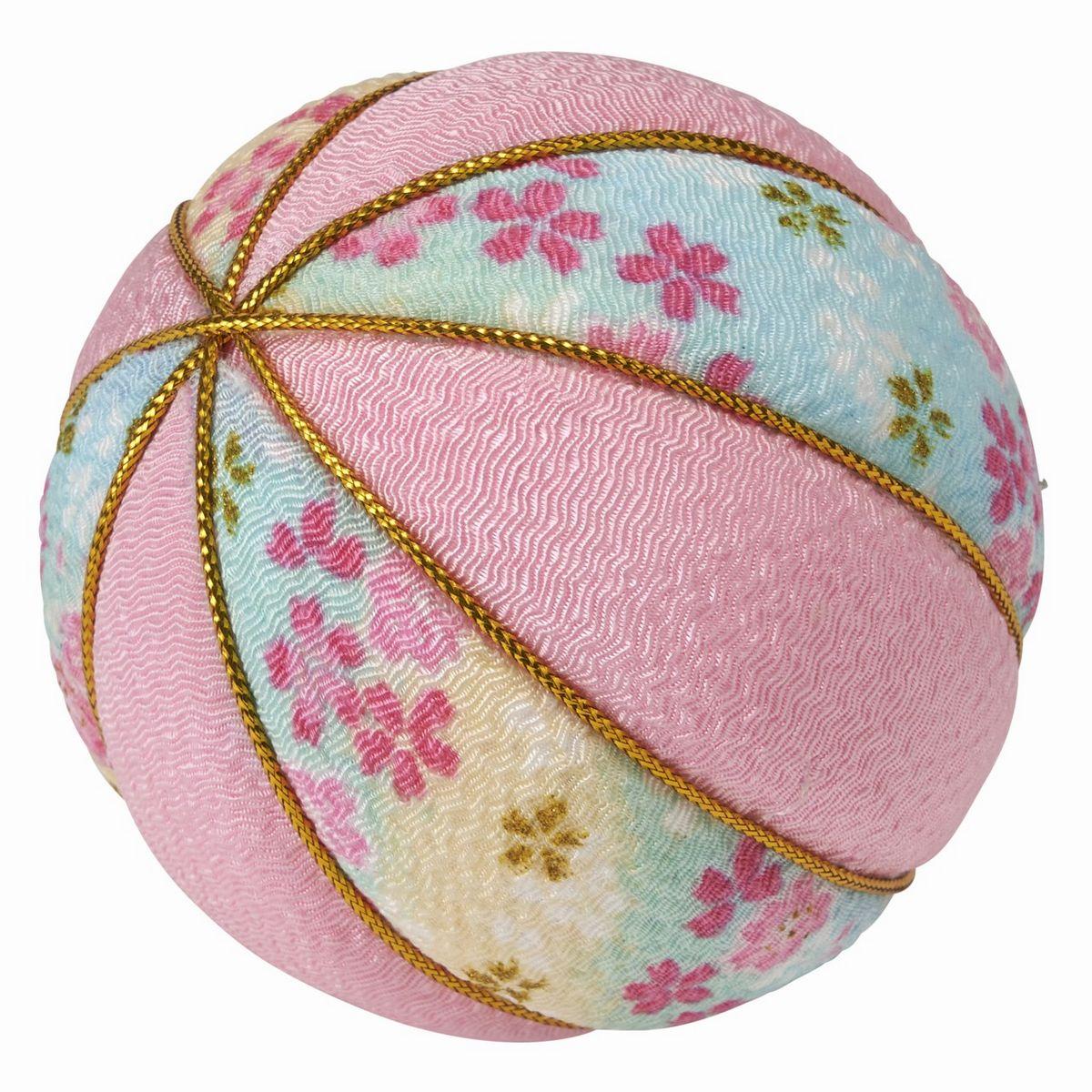 花資材 記念日 道具 アクセサリー 海外 和風アクセサリー 即日 ZE000013-002 花柄 ピンク ちりめん花玉8cm