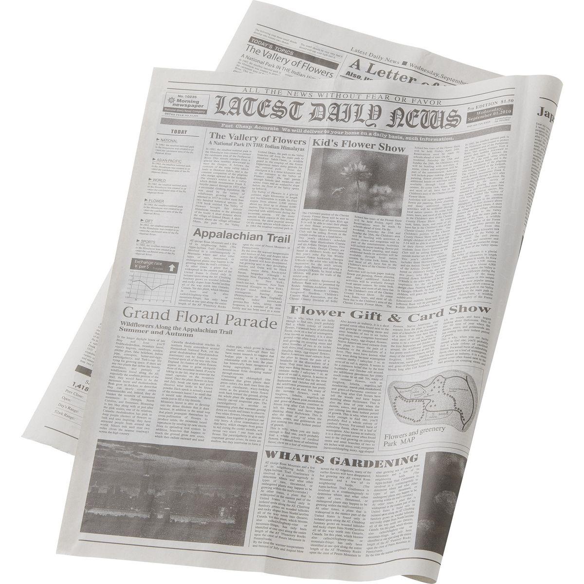 ラッピング用品 ・梱包資材 ラッピングペーパー(包装紙) 包装紙(平判) 手作り 材料 即日 英字新聞紙100イリ/160-7015-0ラッピング用品 ・梱包資材 ラッピングペーパー(包装紙) 包装紙(平判) 手作り 材料