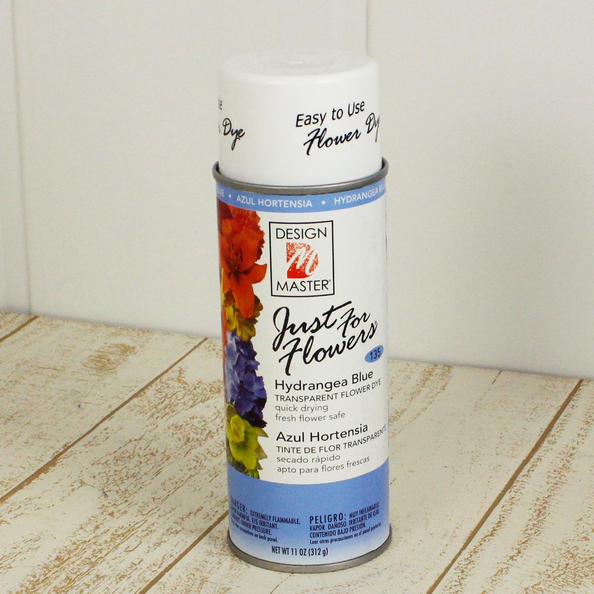 花資材 道具 グリッター カラースプレー 即日 メーカー公式 オアシス Just ハイドレンジアブルー 135 for 400ml 人気海外一番 flowers