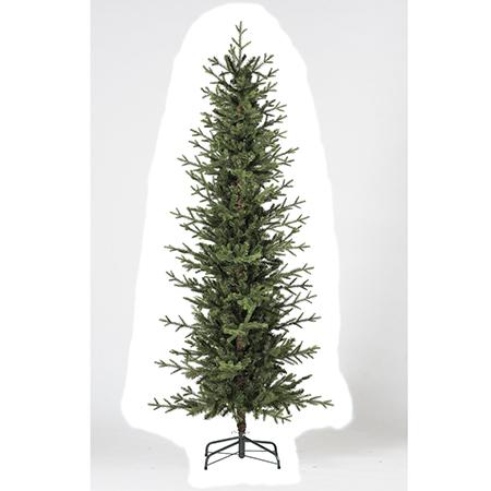 【造花】アスカ/ミックスパインスリムツリー/AX68366【01】【取寄】《 店舗ディスプレイ クリスマス飾り クリスマスツリー 》