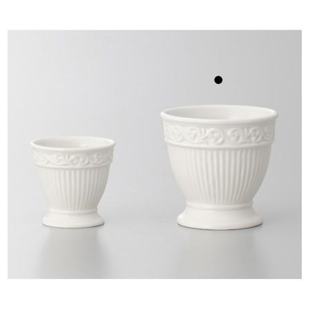 完売 花器 花瓶 陶器 おしゃれ インテリア 一輪挿し 即日 クレイ entasis 11φ10.5H 材料 344-175-100 リース 販売期間 限定のお得なタイムセール 陶器花器 手作り