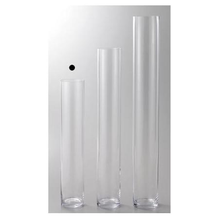 15φ80H/778-027-000 【CLAY Basic】 GLASS straight-R 【01】 【取寄】 クレイ/ 《 花器、リース 花器・花瓶 ガラス花器 》