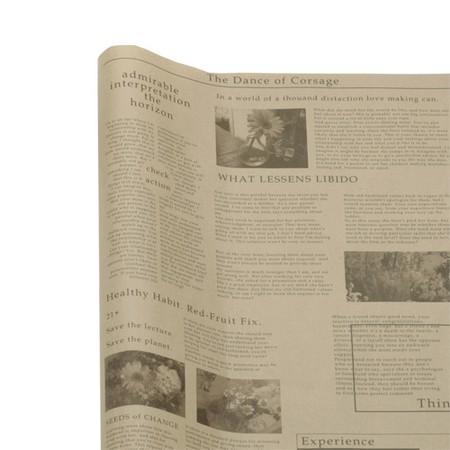 HOSHINO/英字包装紙  That's  No.2(ブラウン/ブラウン)/316212【01】【取寄】[500枚]《 ラッピング用品 ・梱包資材 ラッピングペーパー(包装紙) 包装紙(ロール) 》