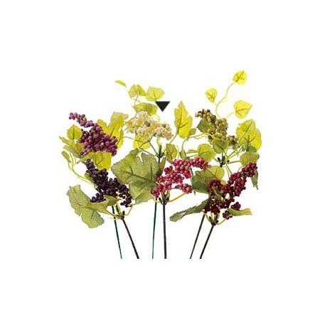 造花 実 フェイクフルーツ ベリー インテリア ブーケ パーツ 即日 【造花】VFG-5121 ベリーピック CR/グリーン/65-512105-0造花(アーティフィシャルフラワー) 造花実物、フェイクフルーツ ベリー 手作り 材料