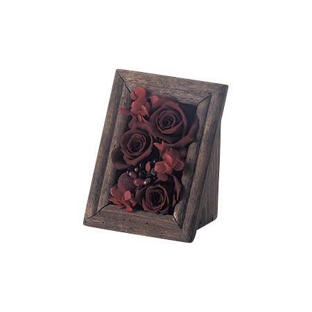 花器 ◇限定Special Price リース 花瓶 フレーム花器 即日 Paseo WD-33 ハイクオリティ ウッドフレームコンポートS