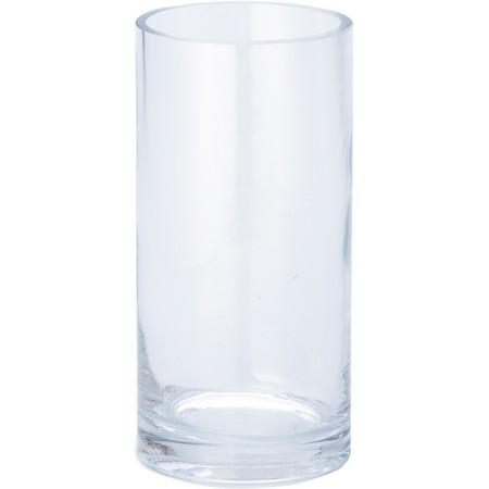 花器 花瓶 ガラス おしゃれ インテリア 一輪挿し 即日 手作り RGB-365 YDM ※ラッピング ※ H20cmガラスベースシリンダー 材料 ガラス花器 未使用 リース