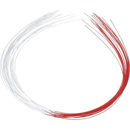 授与 花資材 道具 アクセサリー 水引 手作り 材料 紅白水引 01 90cm 税込 NI0600 取寄